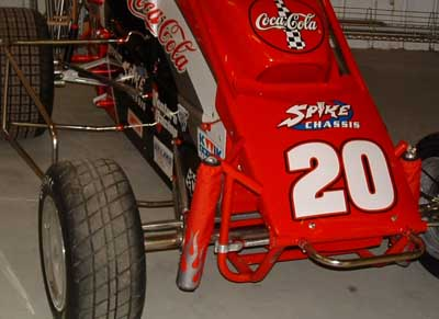 Shox Skinz shock covers for race cars including mini sprints